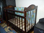 Продается маятниковая  детская кроватка