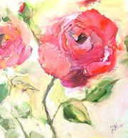 продам картины маслом цветы