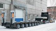 7-осный 81 тонн низкорамный трал от производителя