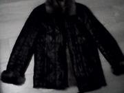 Кожаная куртка с мехом тоскана