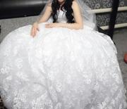 Продам свадебное платье б/у ,