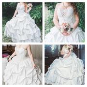 Продам шикарное свадебное платье б/у Ставрополь