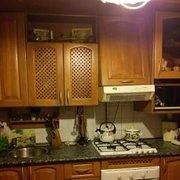 кухонный гарнитур из массива