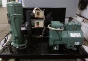 Компрессор,  конденсатор,  охладитель на камеру 200м3.